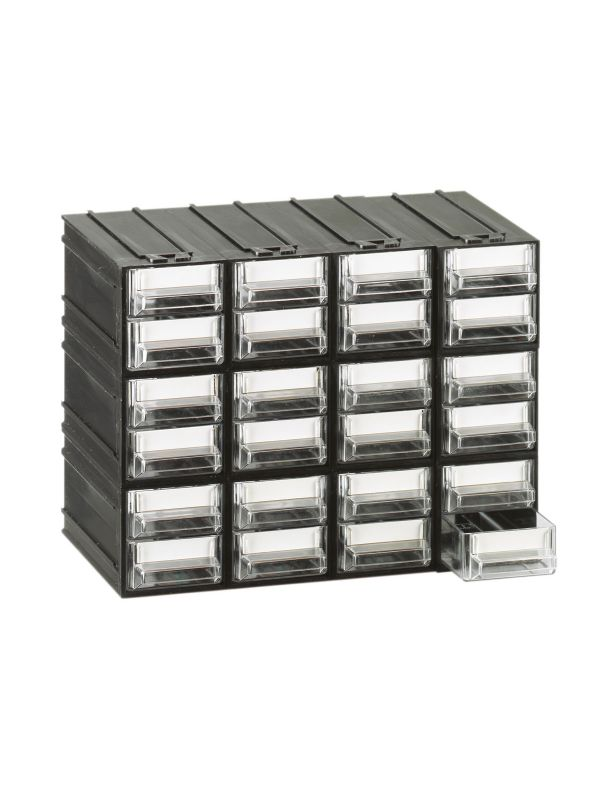 Cassettiere Mobil Plastic.Mobil Plastic Cassettiere Componibile Trasparente 24